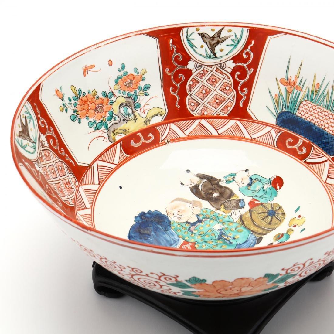 19th Century Japanese Arita Imari Bowl - 4