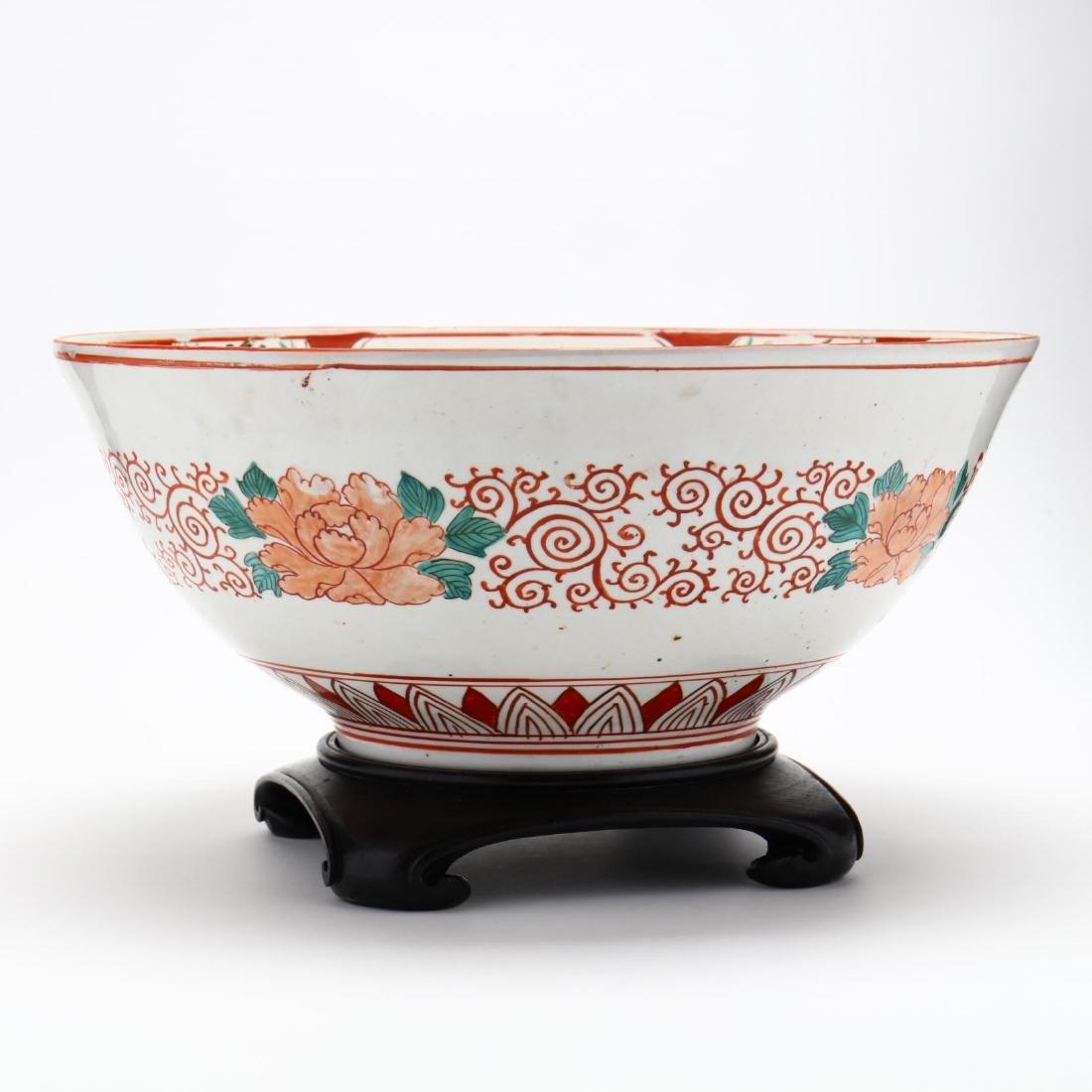19th Century Japanese Arita Imari Bowl - 5