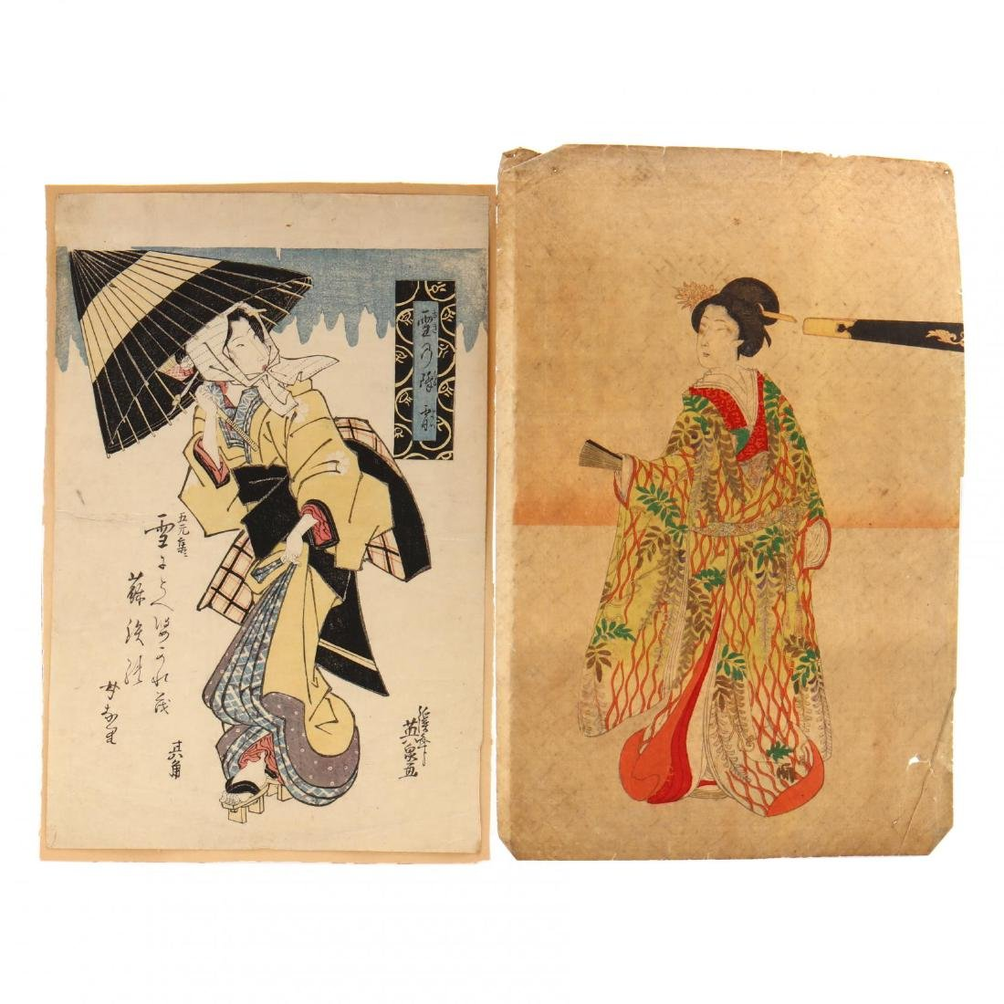 A Group of Japanese Woodblock Prints - 2
