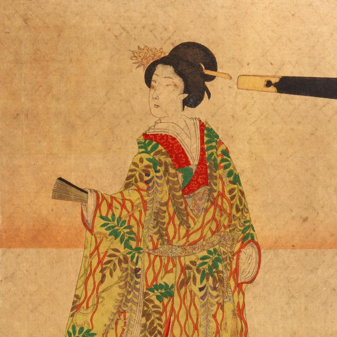 A Group of Japanese Woodblock Prints - 4
