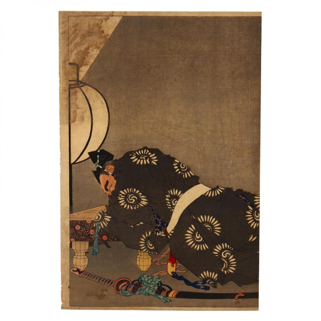 A Group of Japanese Woodblock Prints - 8