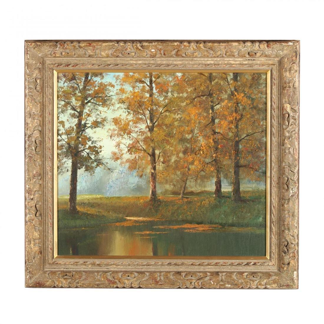 An Autumn Landscape Painting