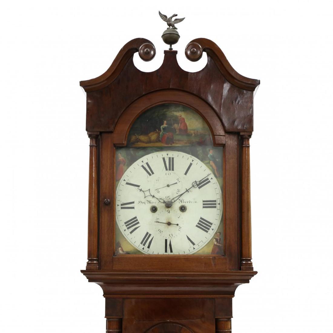 Scottish Mahogany Tall Case Clock, Hay Mercer, Aberdeen - 2