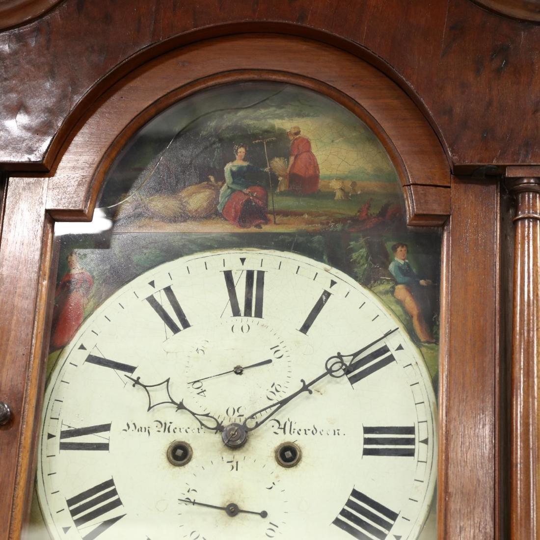 Scottish Mahogany Tall Case Clock, Hay Mercer, Aberdeen - 5