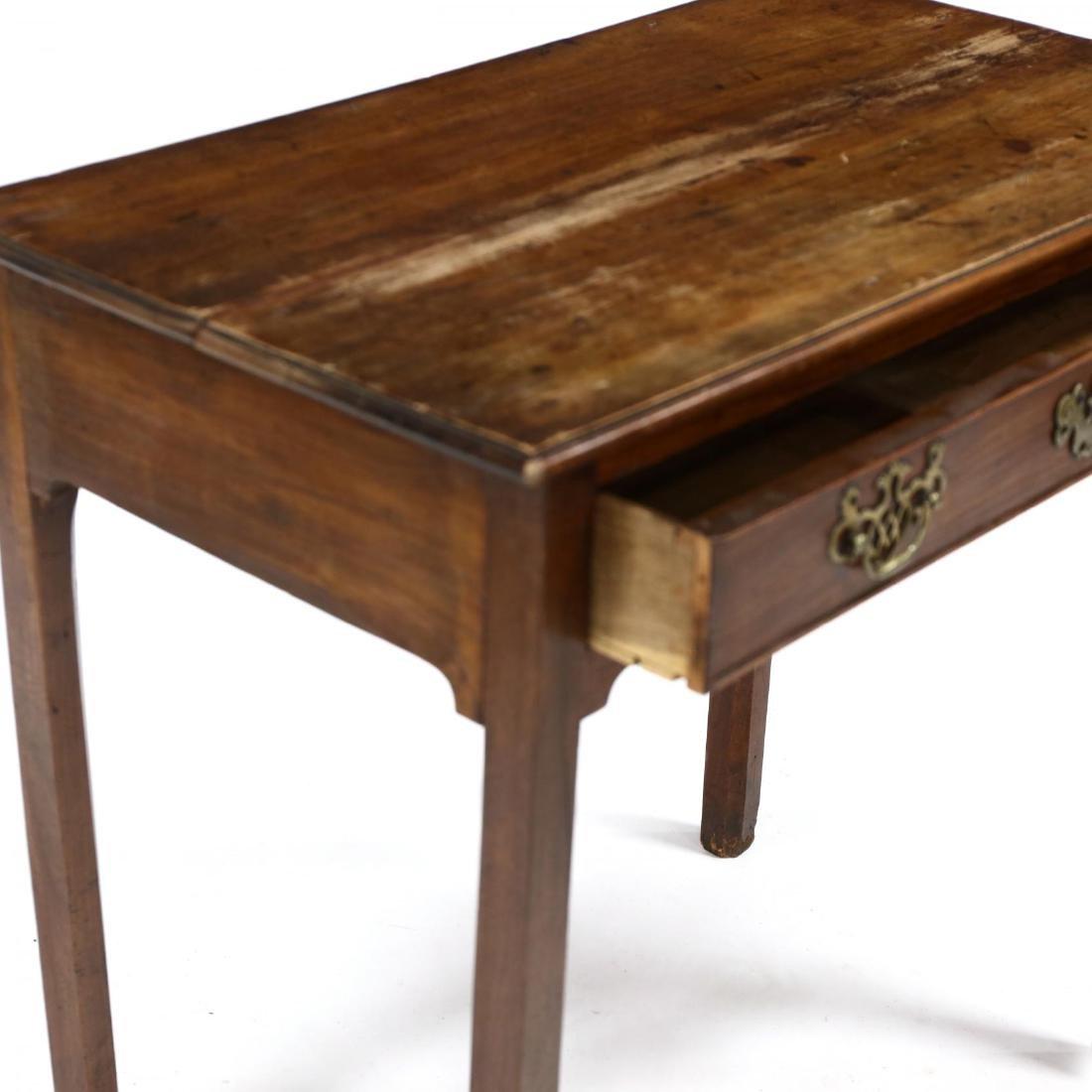 George III Mahogany Writing Table - 3