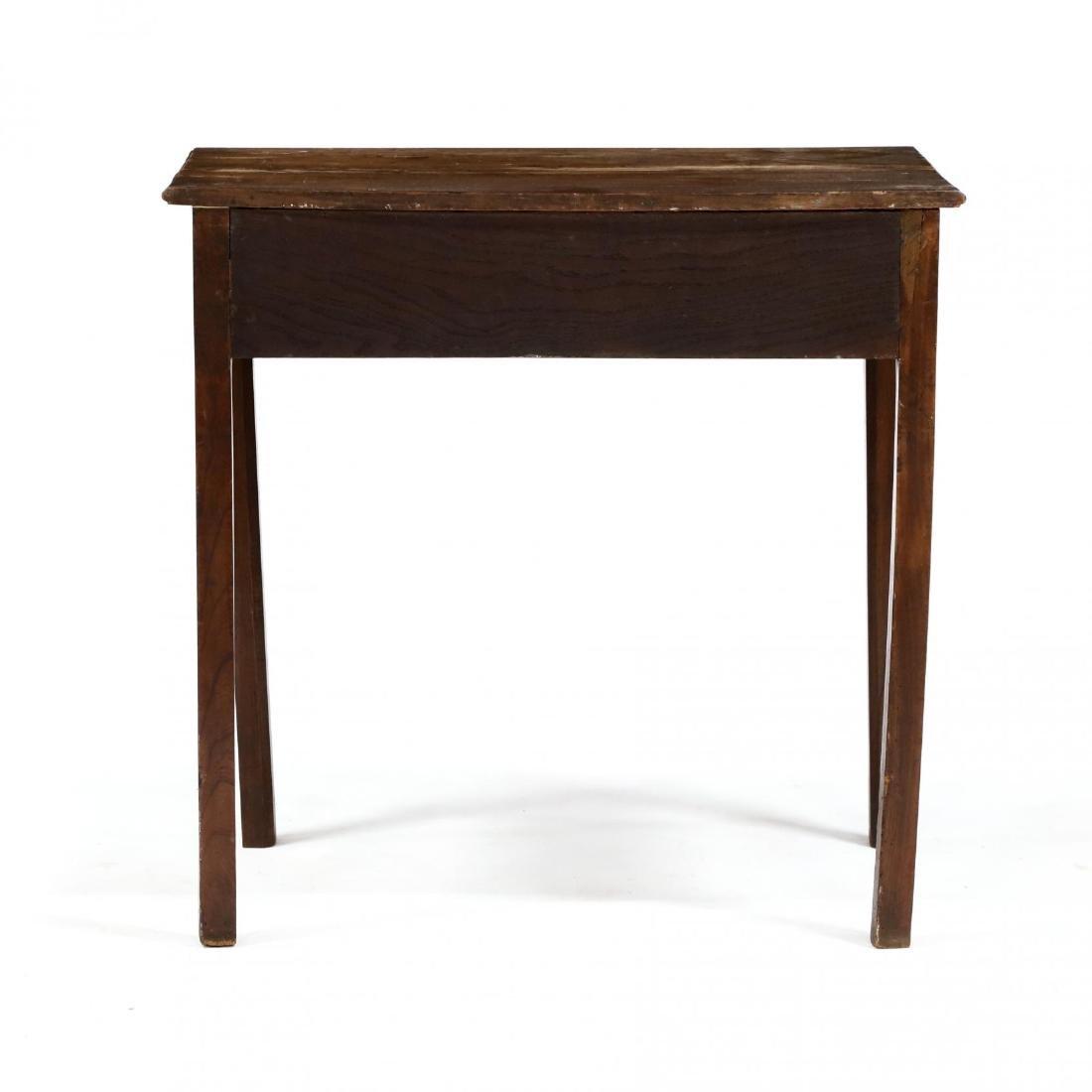 George III Mahogany Writing Table - 4