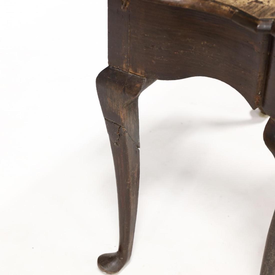 George III Elm Dressing Table - 4