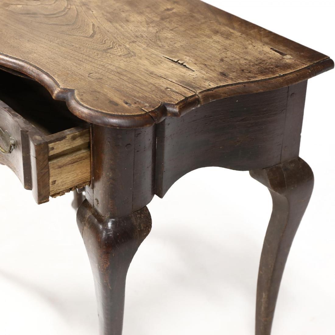 George III Elm Dressing Table - 5