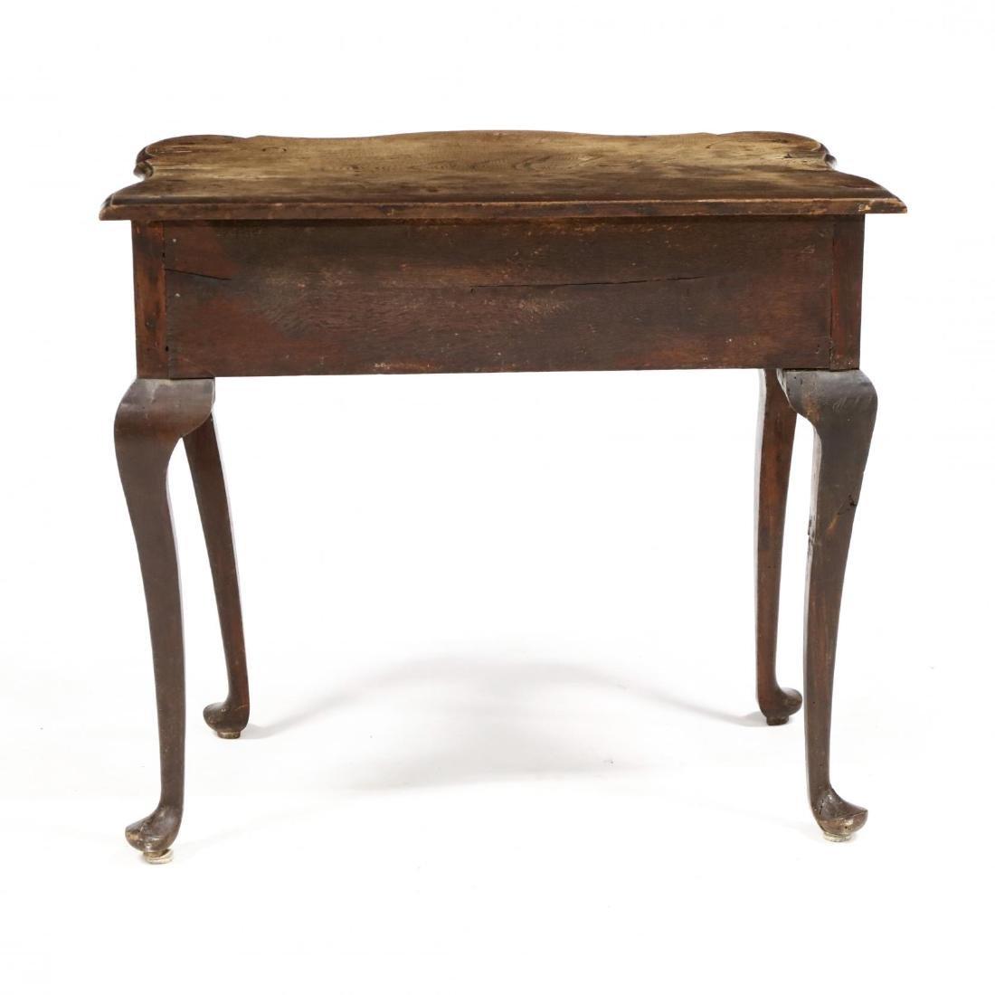 George III Elm Dressing Table - 6