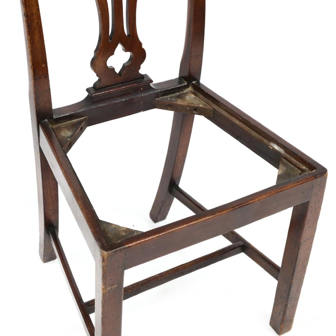 Chippendale Mahogany Side Chair - 3