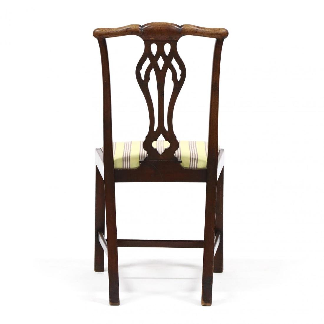 Chippendale Mahogany Side Chair - 4