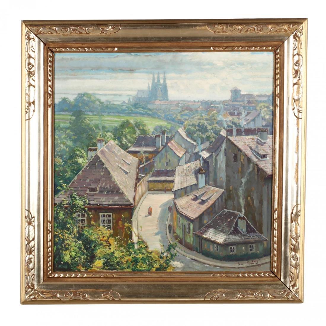 Jan Spacil-Zeranovsky (Czech, 1892-1982), View of