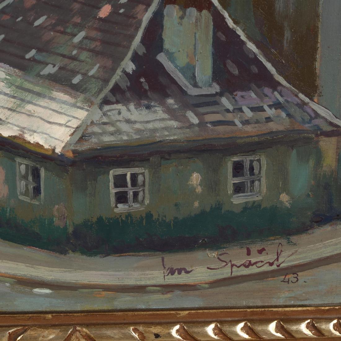 Jan Spacil-Zeranovsky (Czech, 1892-1982), View of - 2