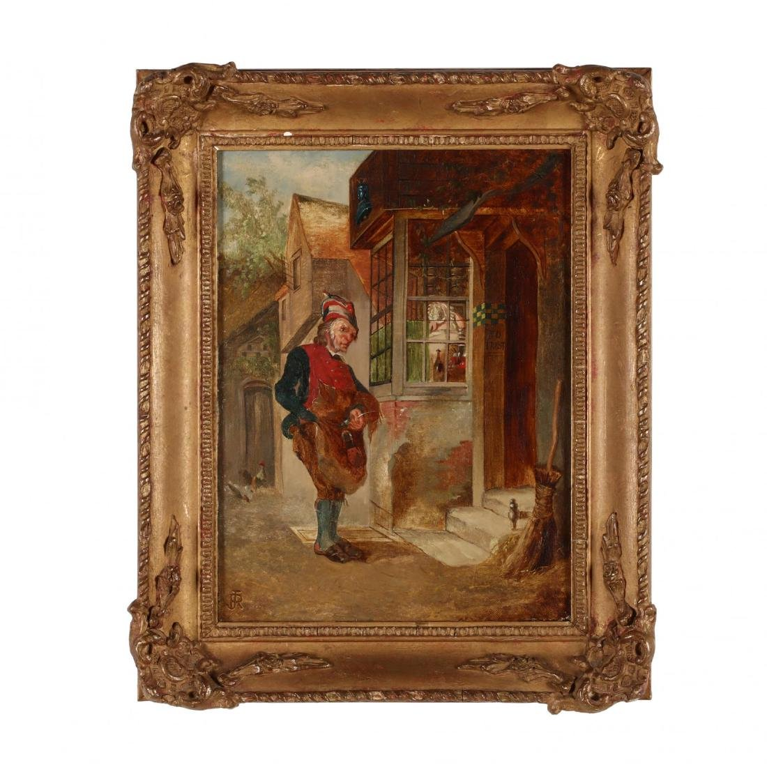 after Rudolf Jordan (German, 1810-1887), The Cobbler