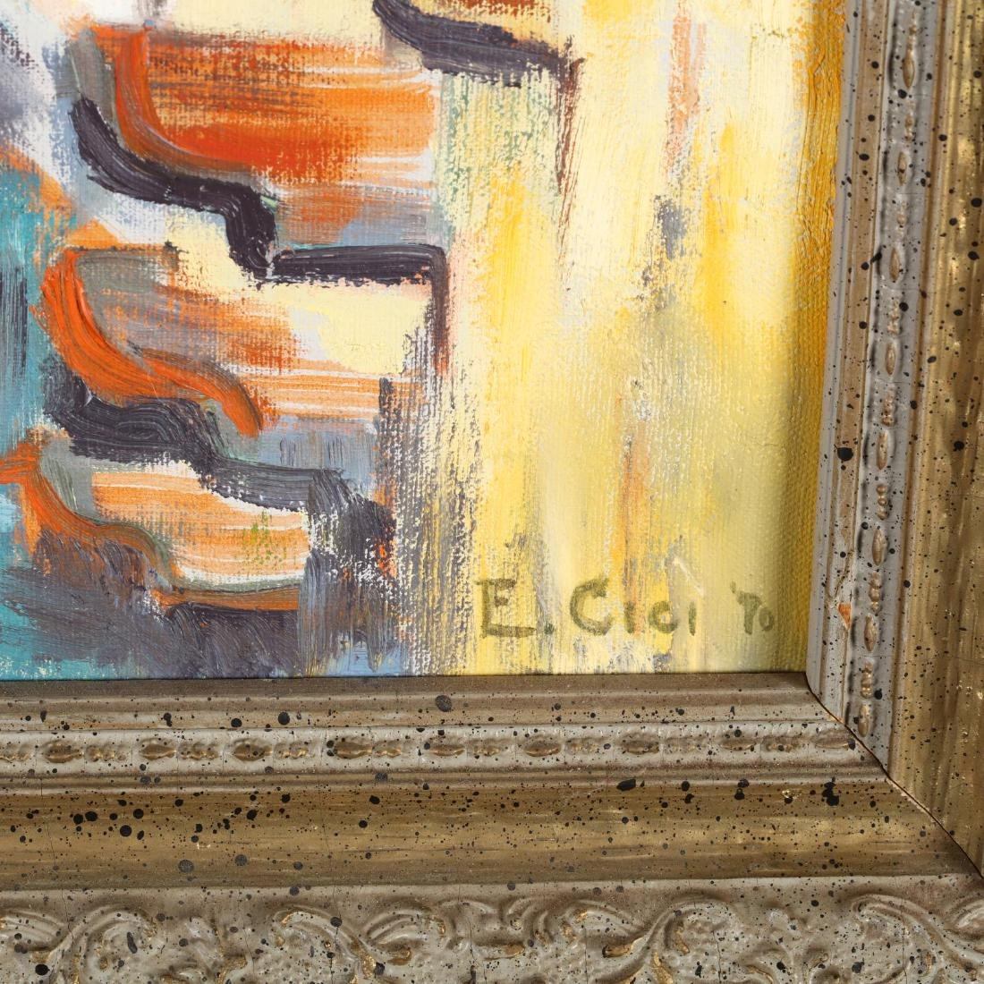 A Vintage Impressionist Architectural Painting - 2
