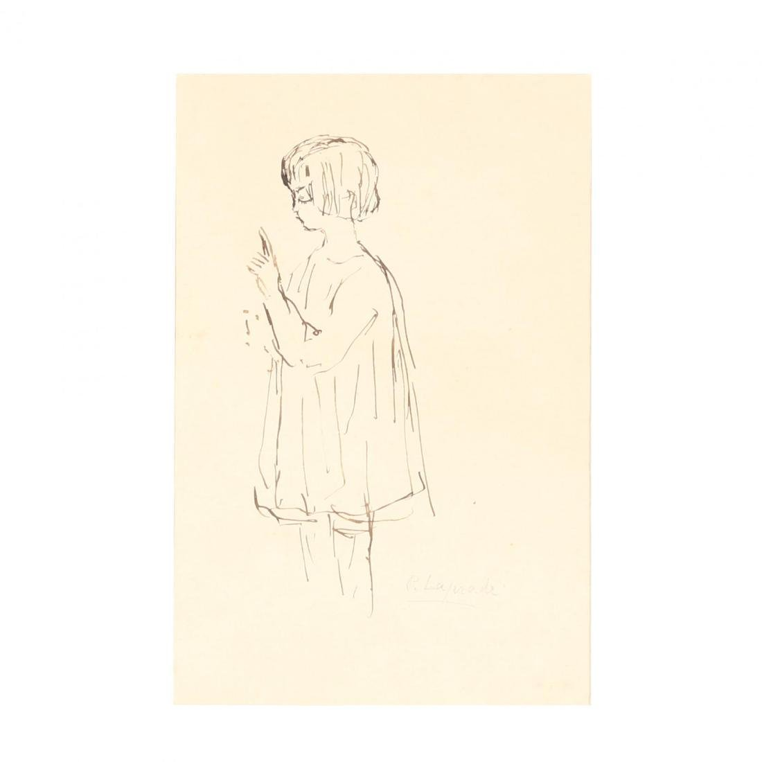 Pierre Lapadre (France, 1875-1931), Sketch of a Young