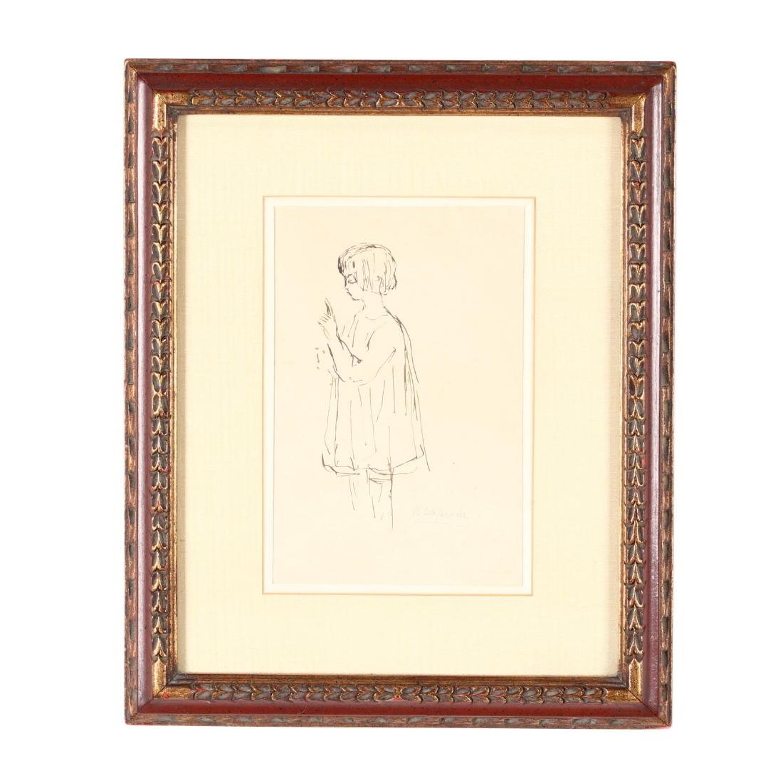 Pierre Lapadre (France, 1875-1931), Sketch of a Young - 2