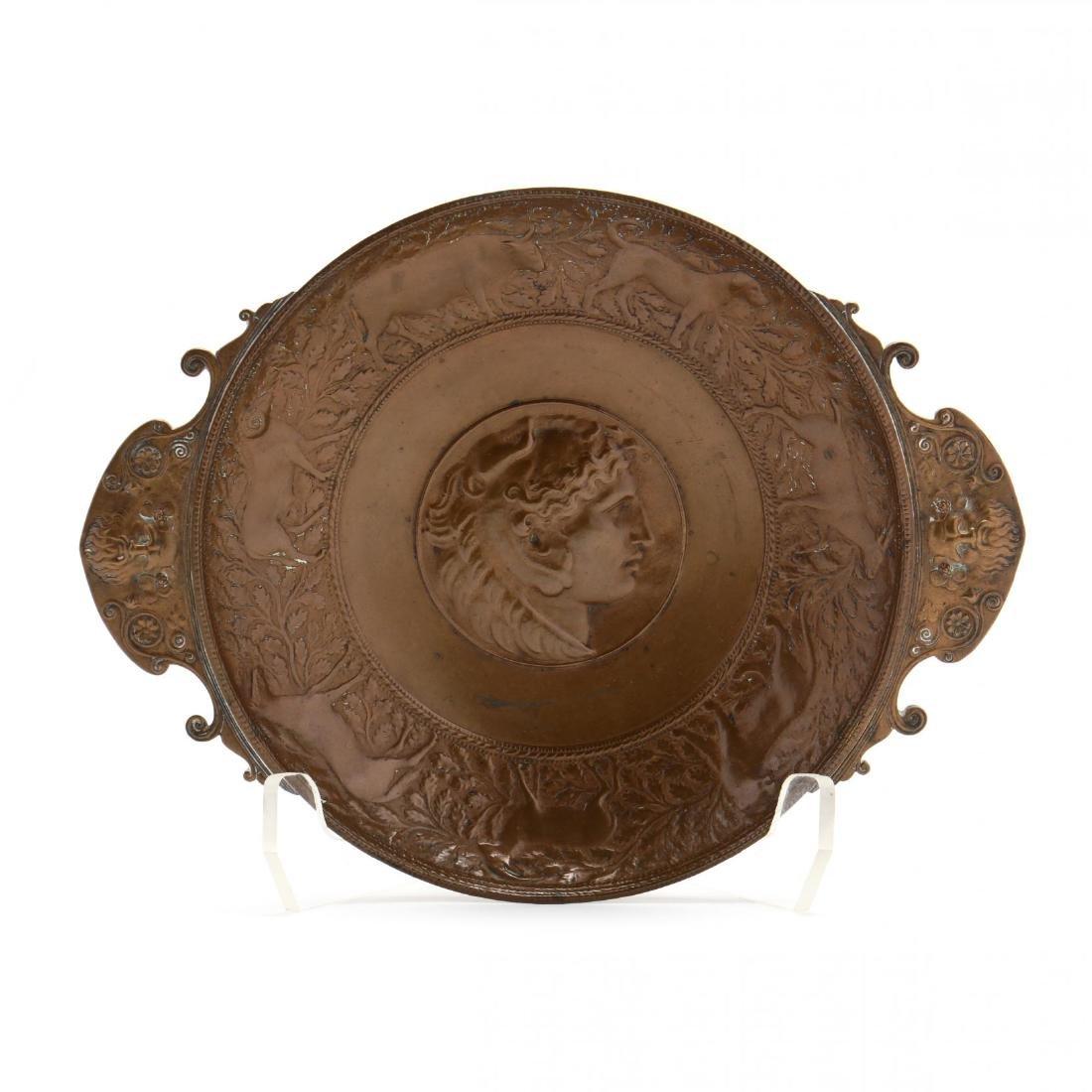 Ferdinand Barbedienne, Neoclassical Bronze Tazza - 2