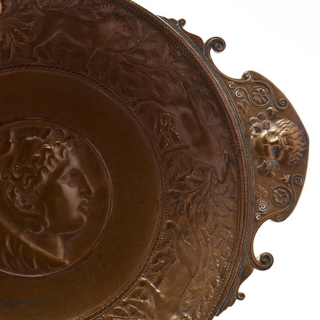 Ferdinand Barbedienne, Neoclassical Bronze Tazza - 3