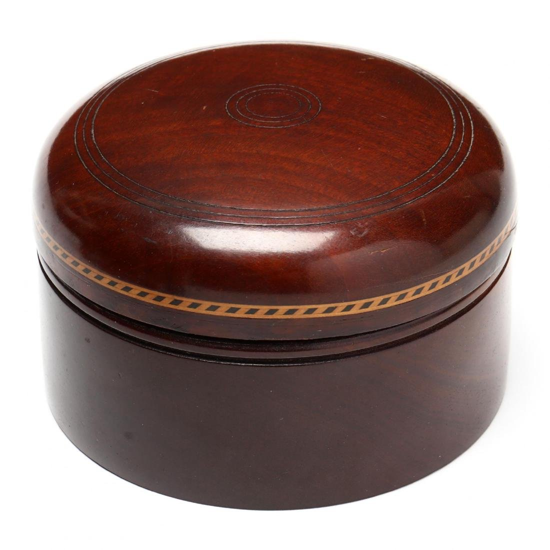 George III Inlaid Miniature Chest and Lidded Box - 3