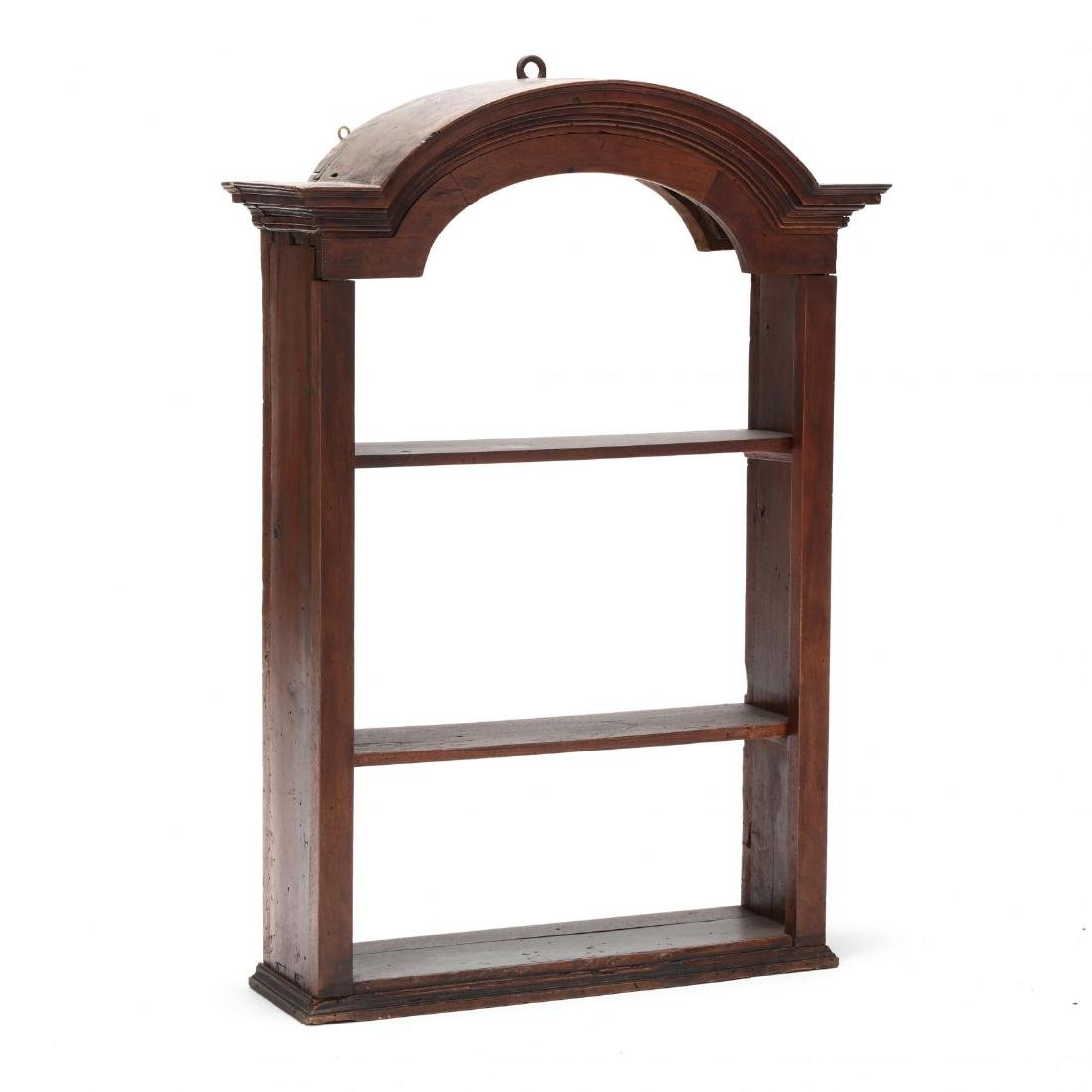Antique Continental Hanging Display Cabinet
