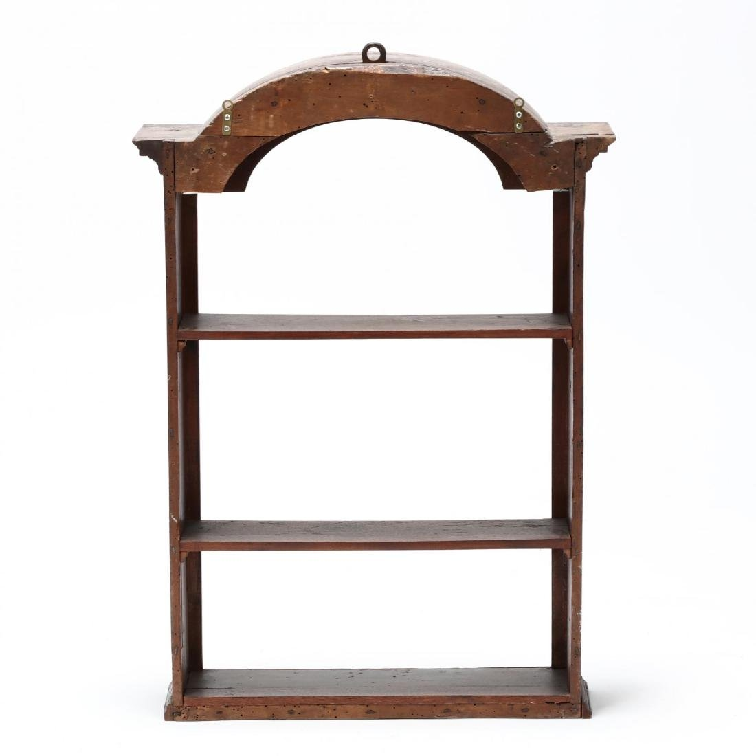 Antique Continental Hanging Display Cabinet - 3