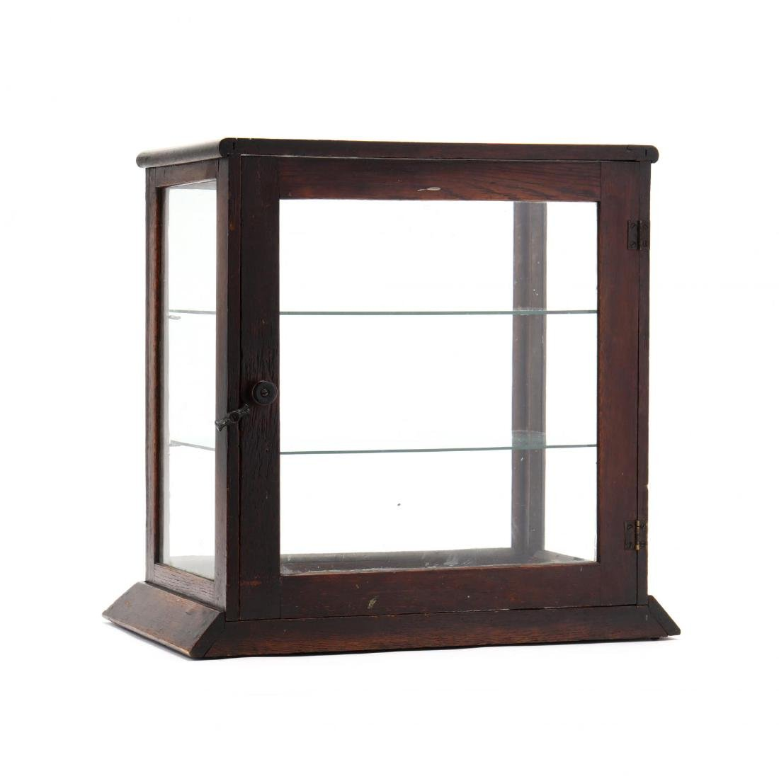 Antique Country Store Counter Top Display Case