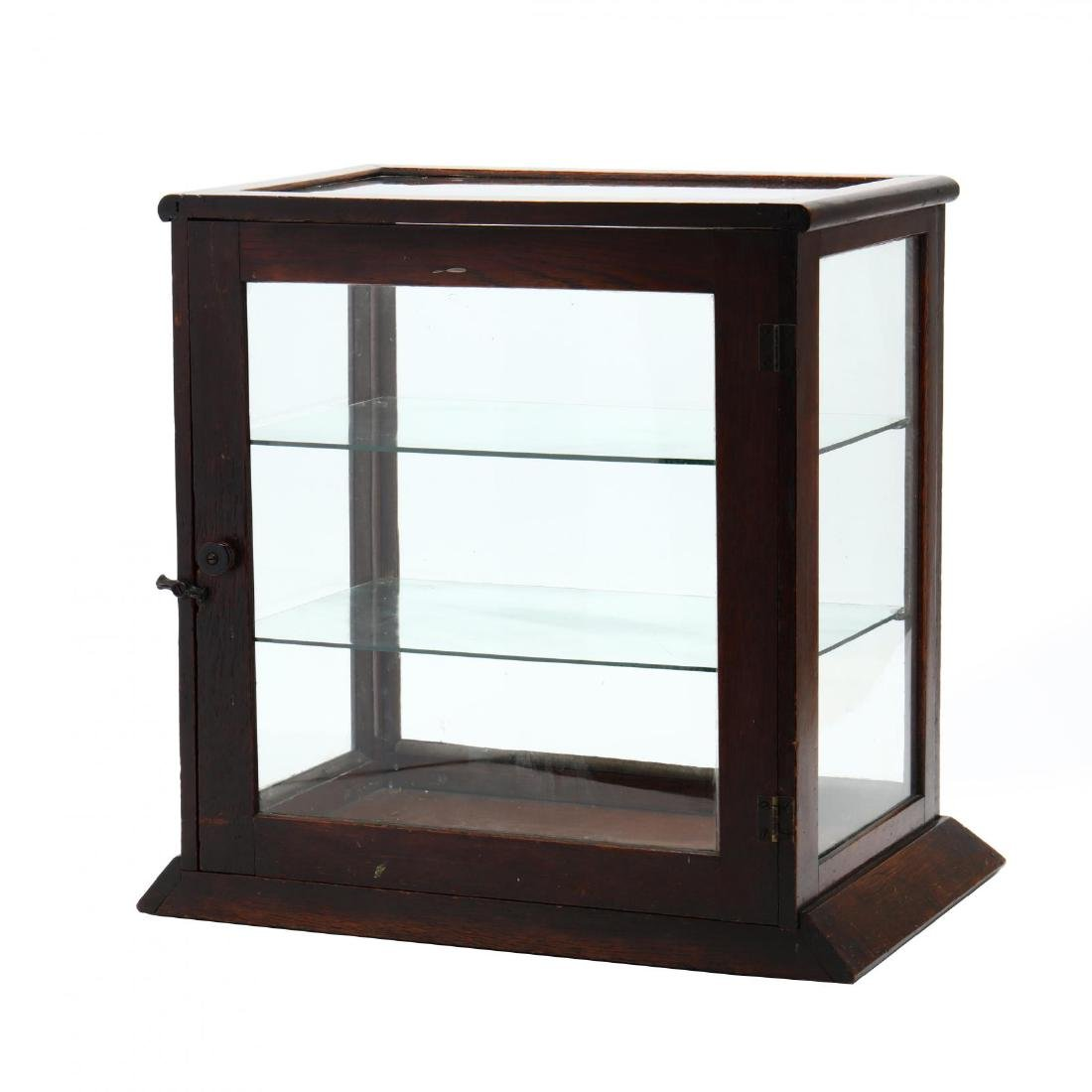 Antique Country Store Counter Top Display Case - 2