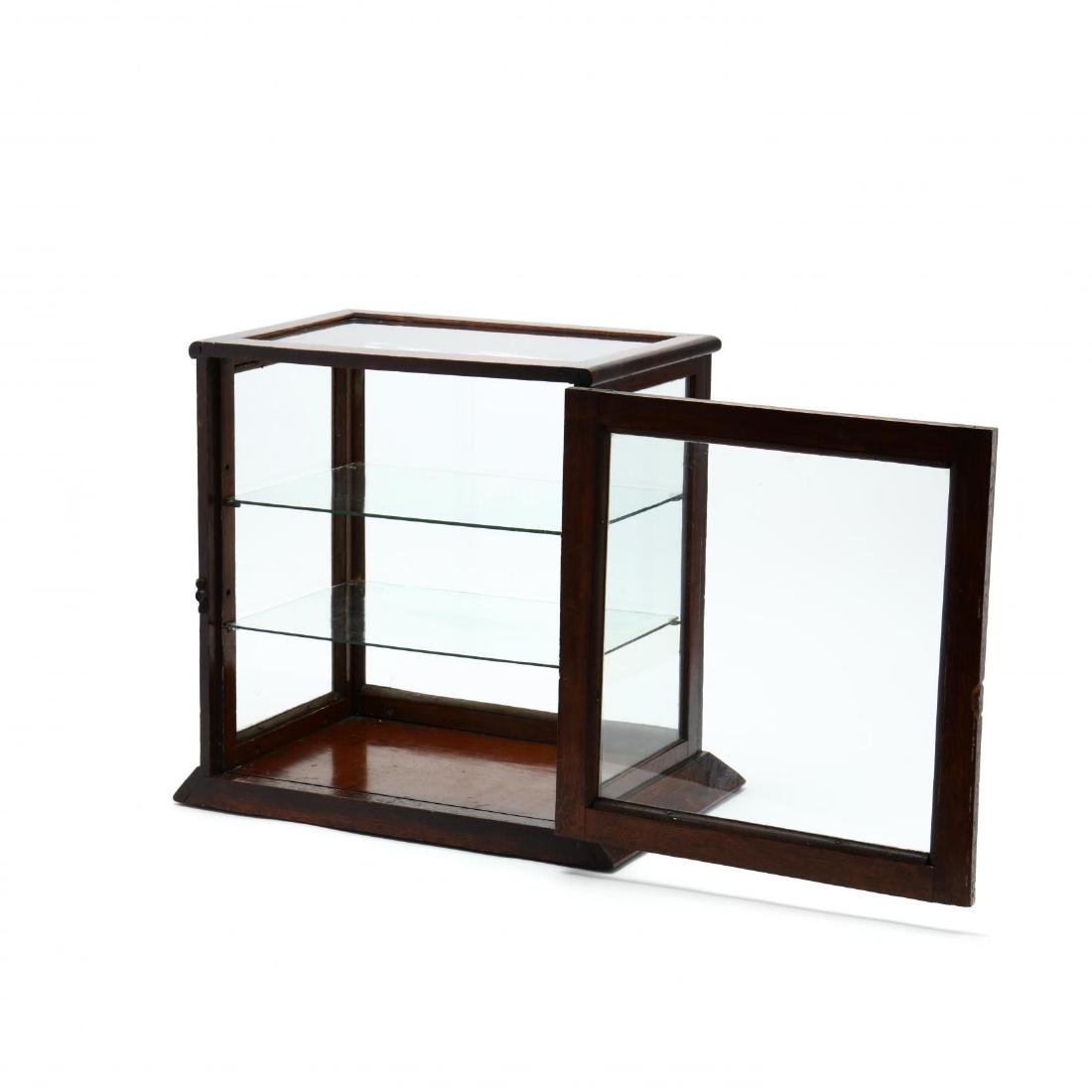 Antique Country Store Counter Top Display Case - 3