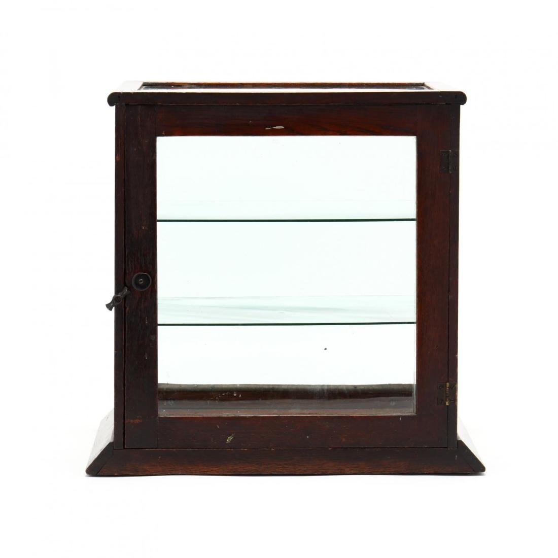 Antique Country Store Counter Top Display Case - 6