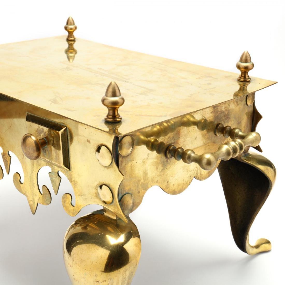 Dutch Style Brass Footman - 4