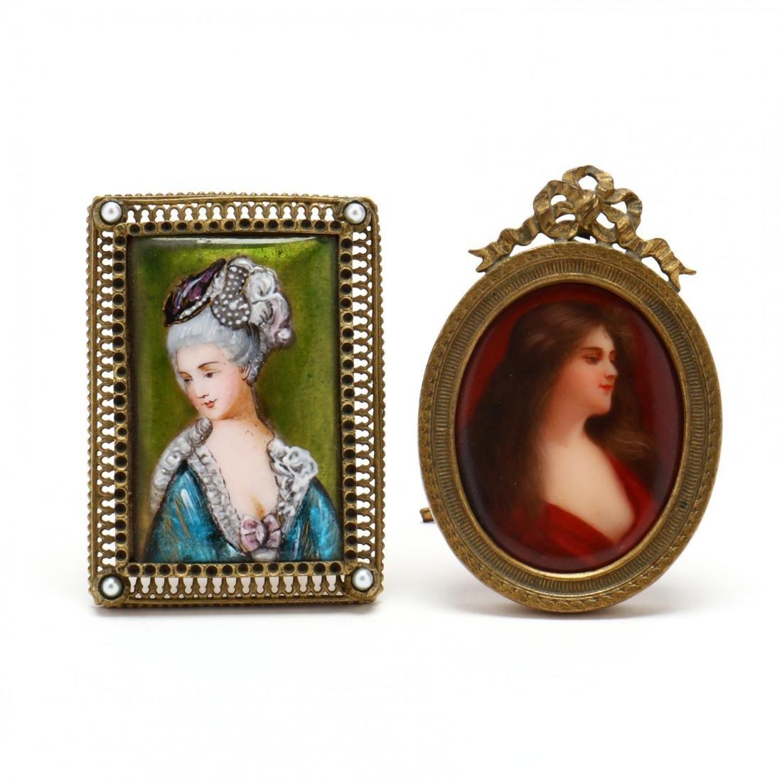 Two Miniature Portraits