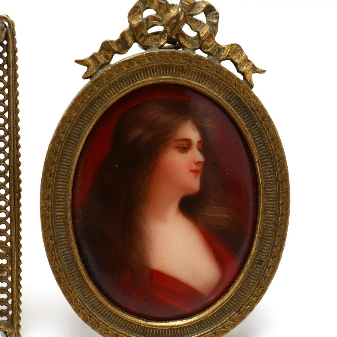 Two Miniature Portraits - 2