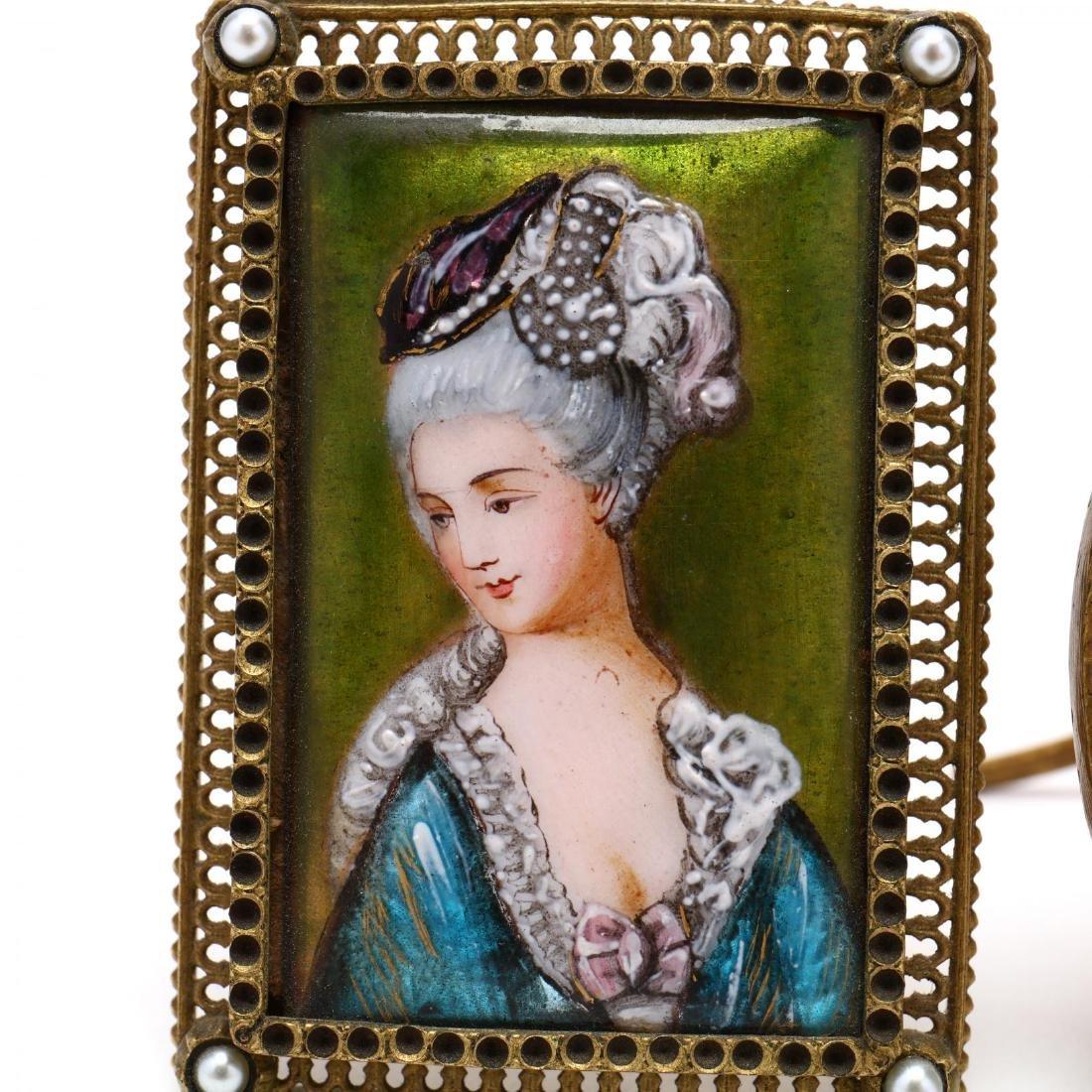 Two Miniature Portraits - 3