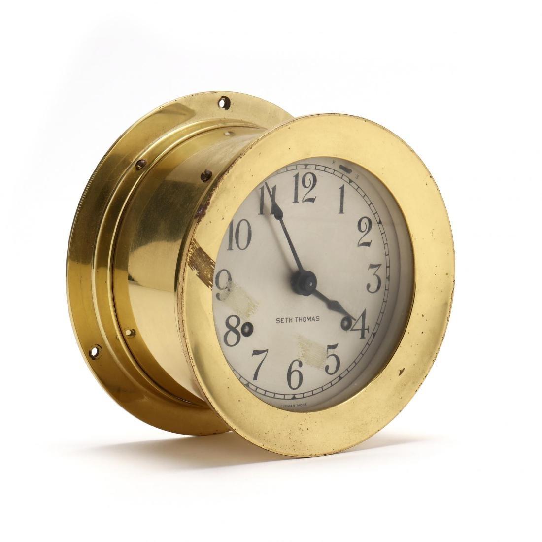 Seth Thomas Ship's Clock - 2