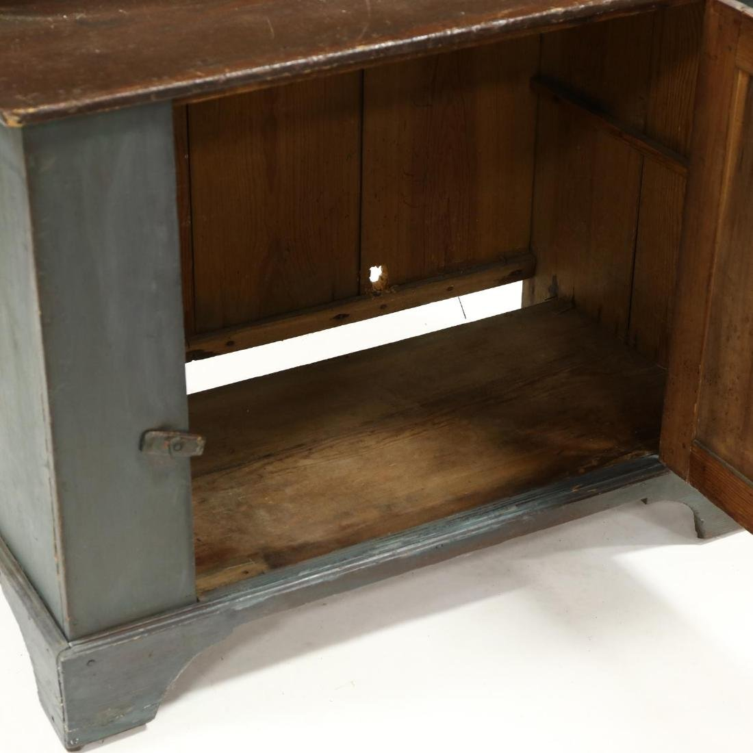 Southern Painted Stepback Flat Wall Cupboard - 4