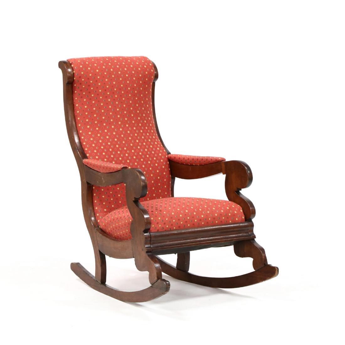 att. Thomas Day, American Classical Rocking Chair