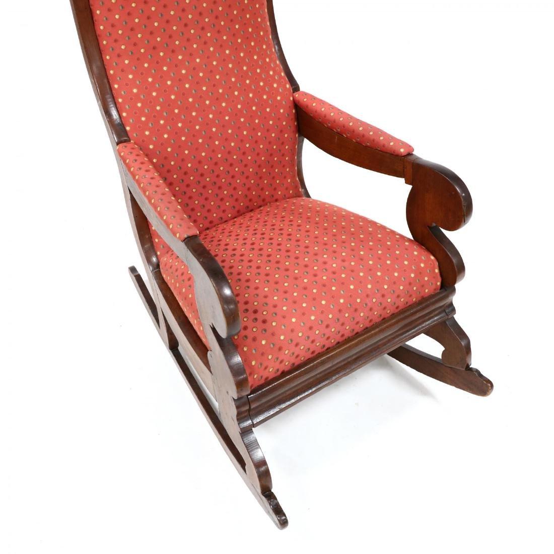 att. Thomas Day, American Classical Rocking Chair - 2