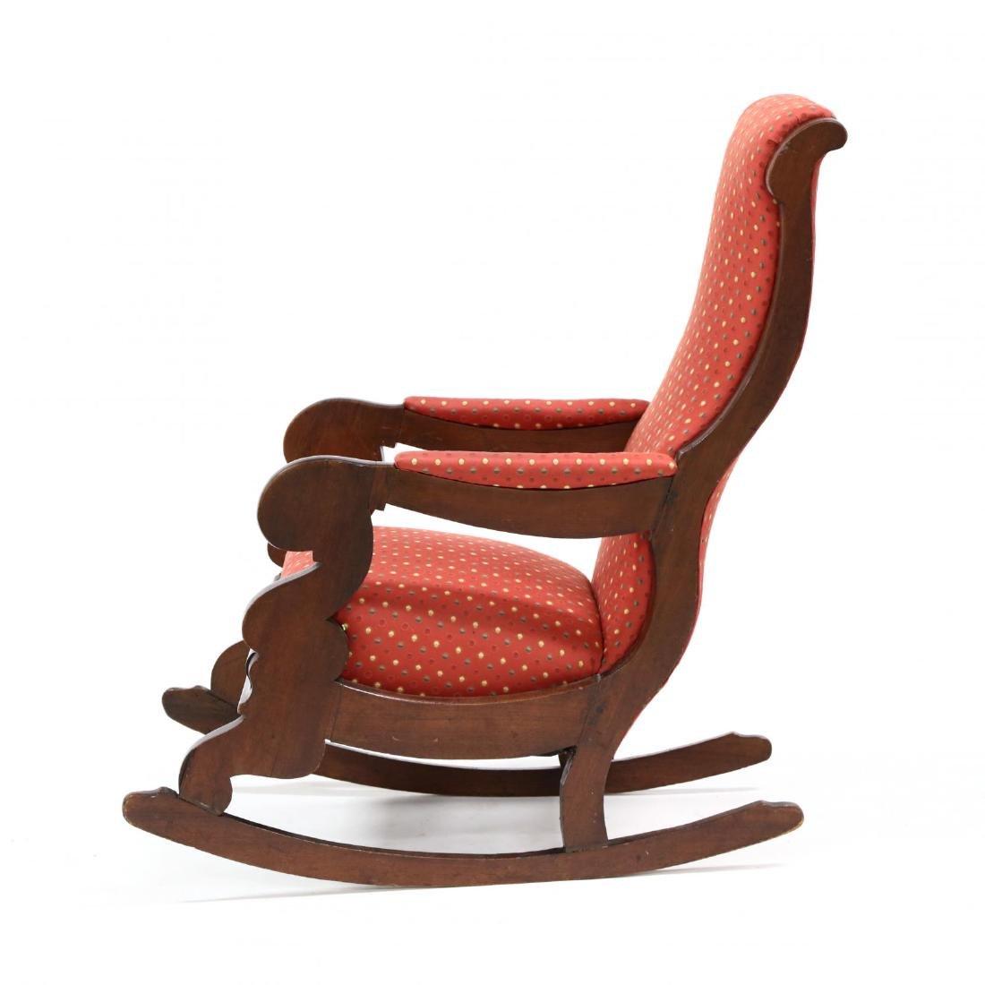 att. Thomas Day, American Classical Rocking Chair - 3