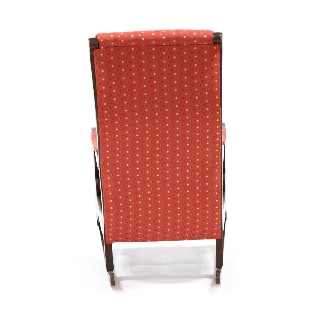att. Thomas Day, American Classical Rocking Chair - 4