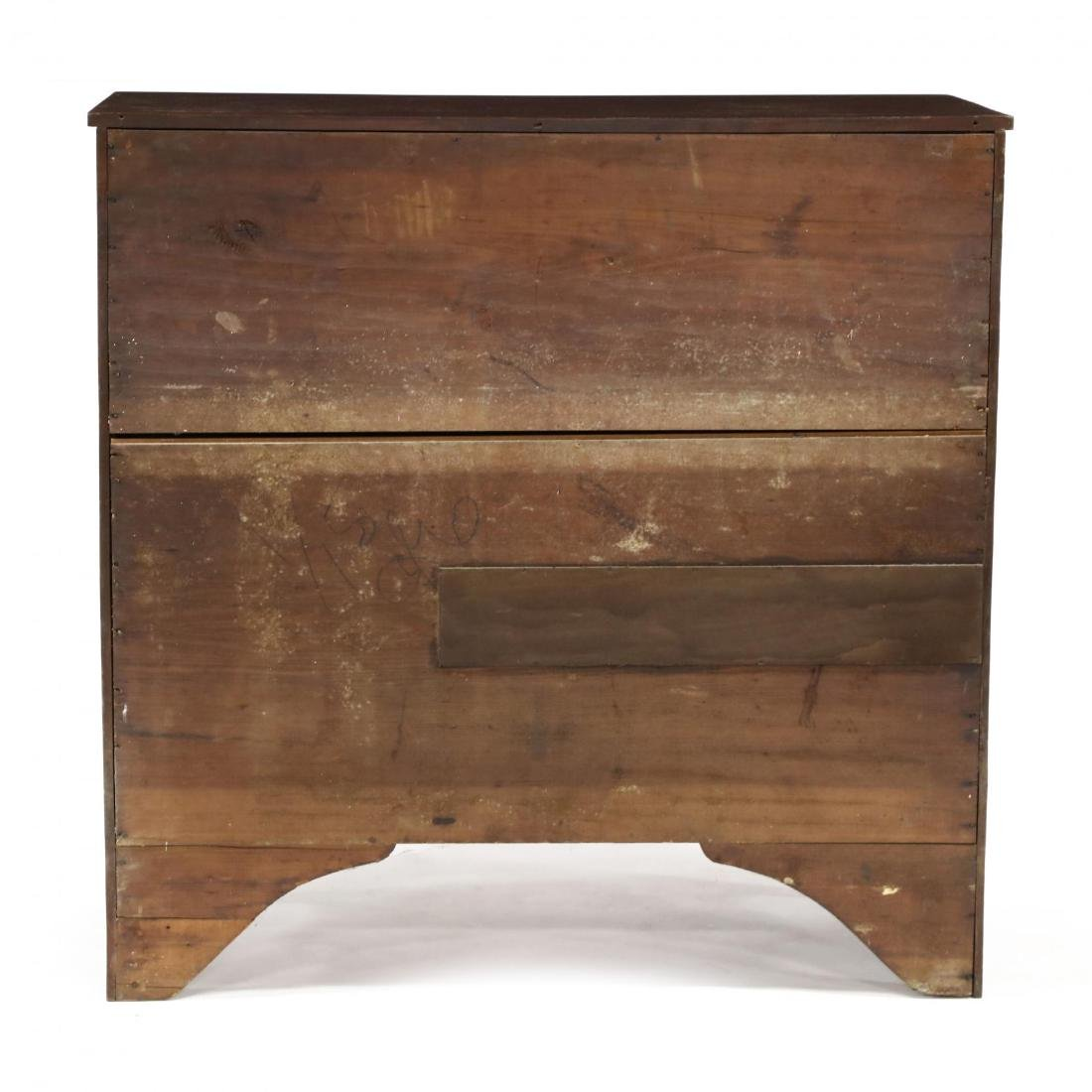 Late Federal Cherry Butler's Chest of Drawers - 7