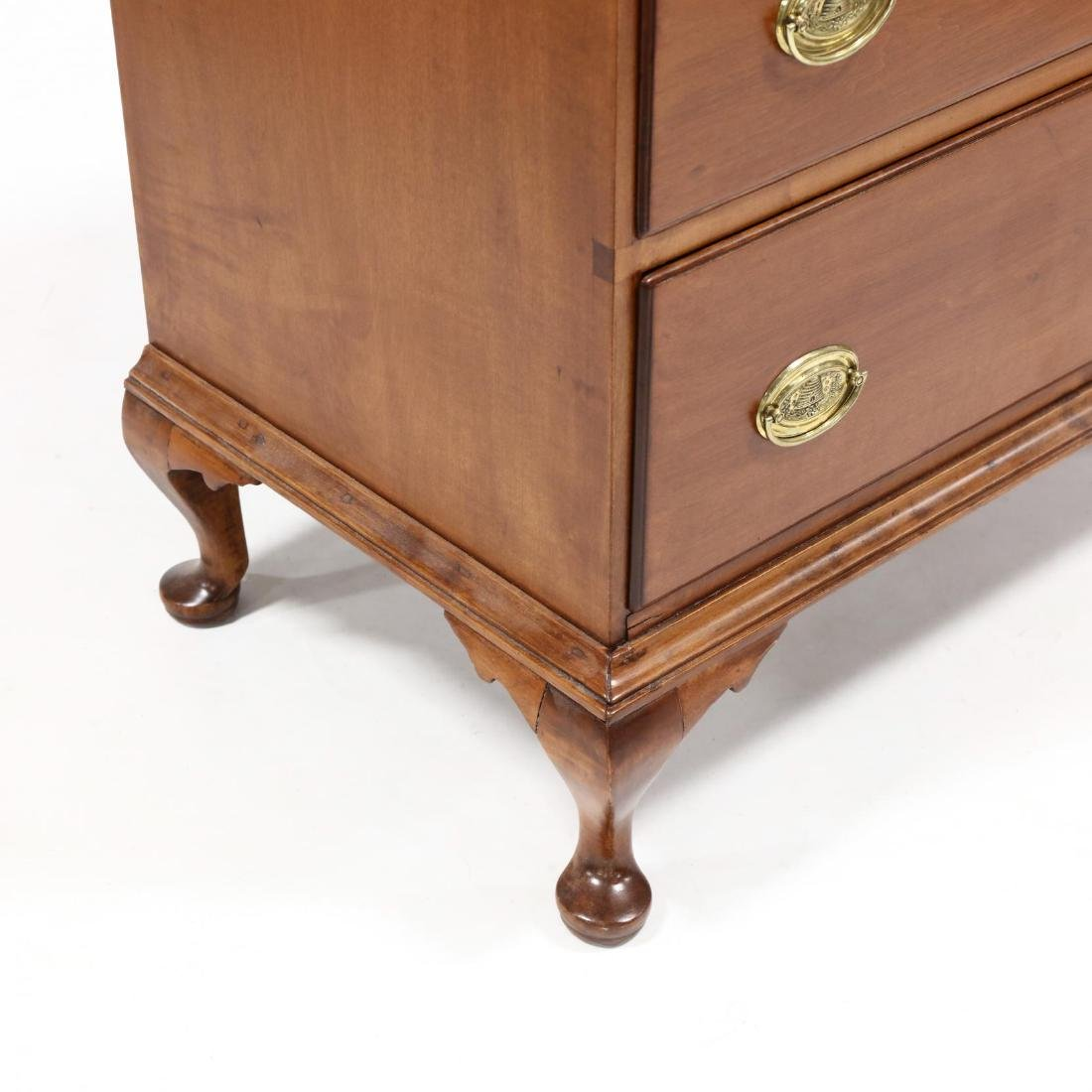 American Queen Anne Cherry Chest of Drawers - 3
