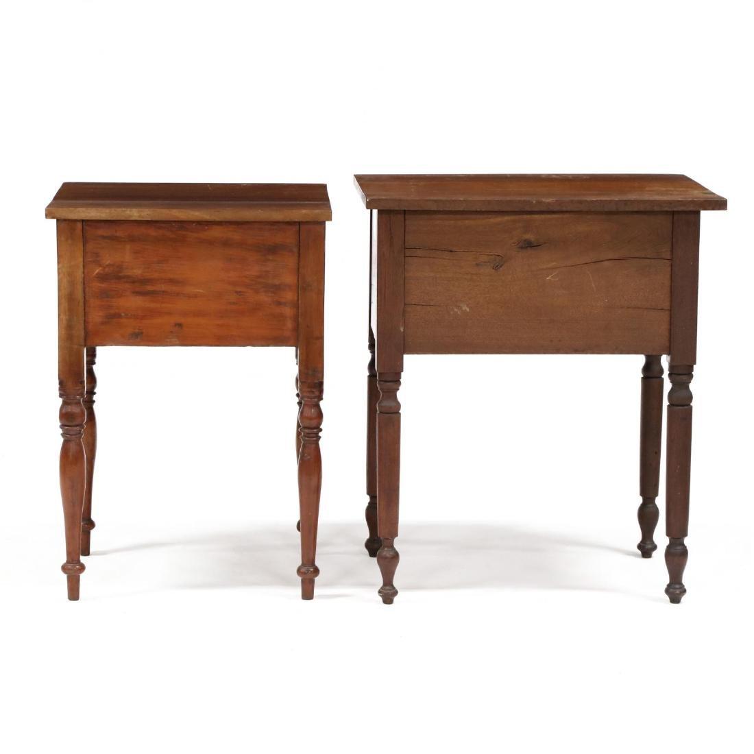 Two Sheraton Walnut Work Tables - 6