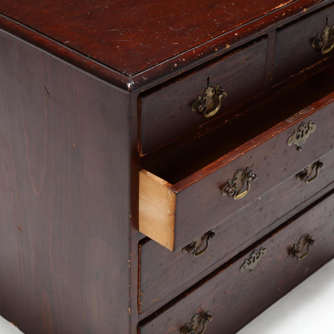 New England Federal Child's Chest of Drawers - 3