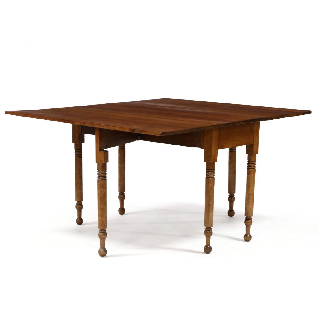American Sheraton Cherry Dropleaf Dining Table - 2