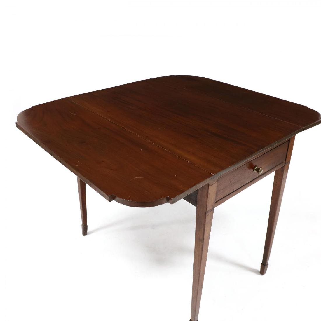American Federal Mahogany Pembroke Table - 3
