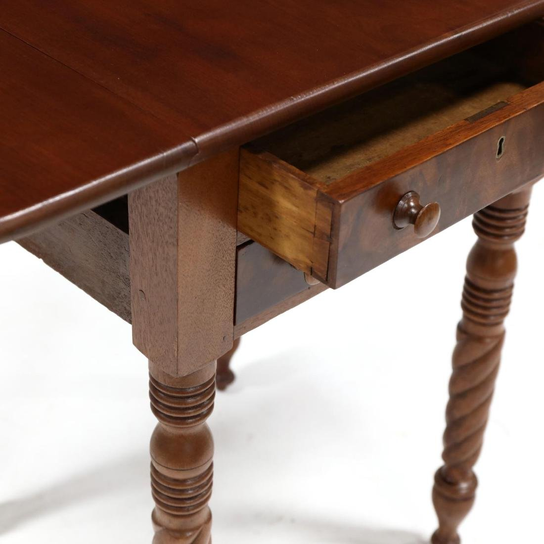 Late Federal Two Drawer Work Table - 3