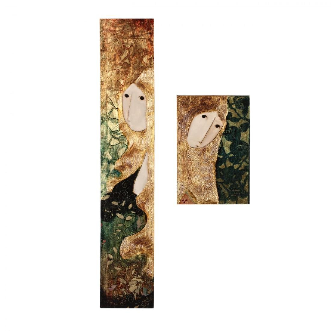 Stephen White (NC), Woman in Gold & Green