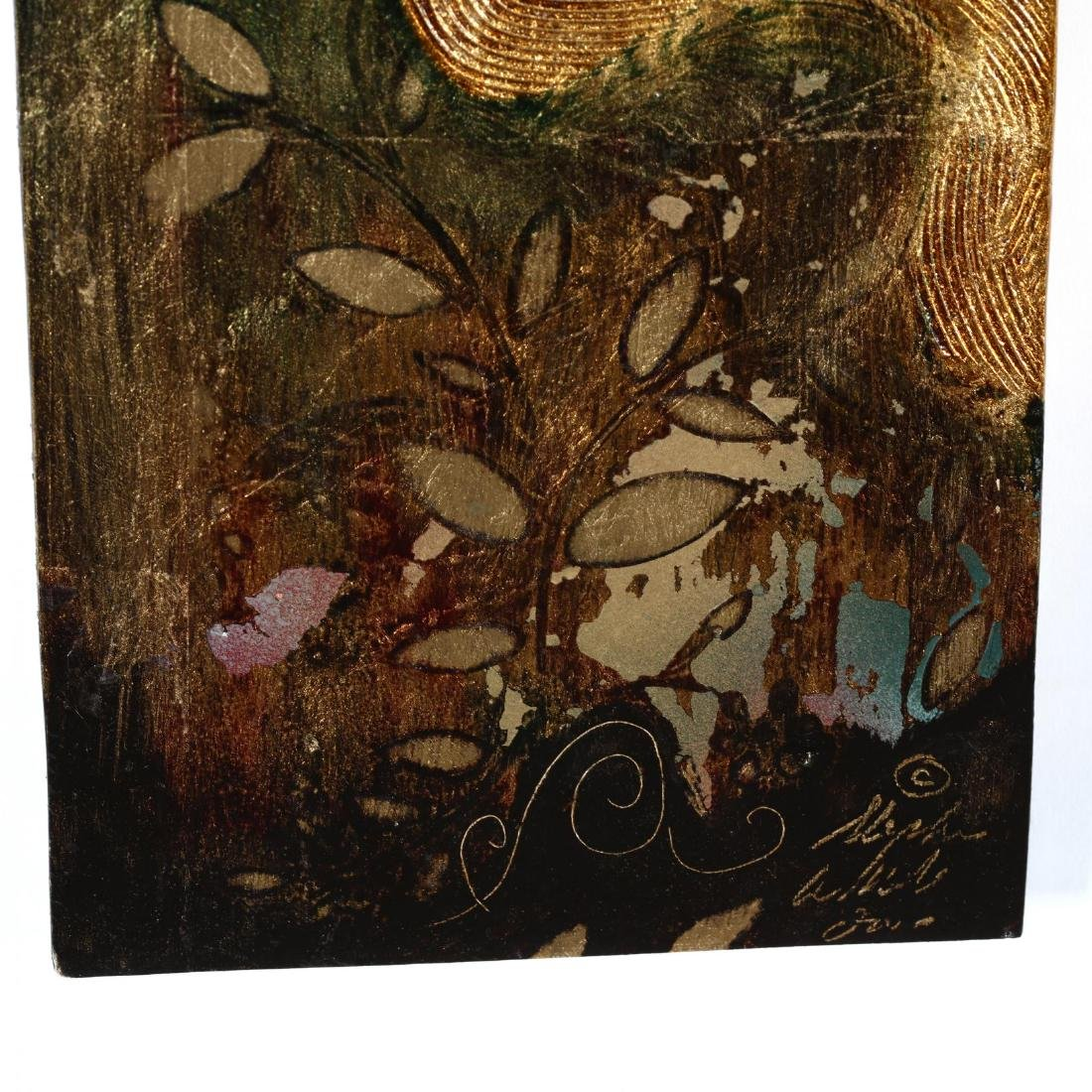 Stephen White (NC), Woman in Gold & Green - 2