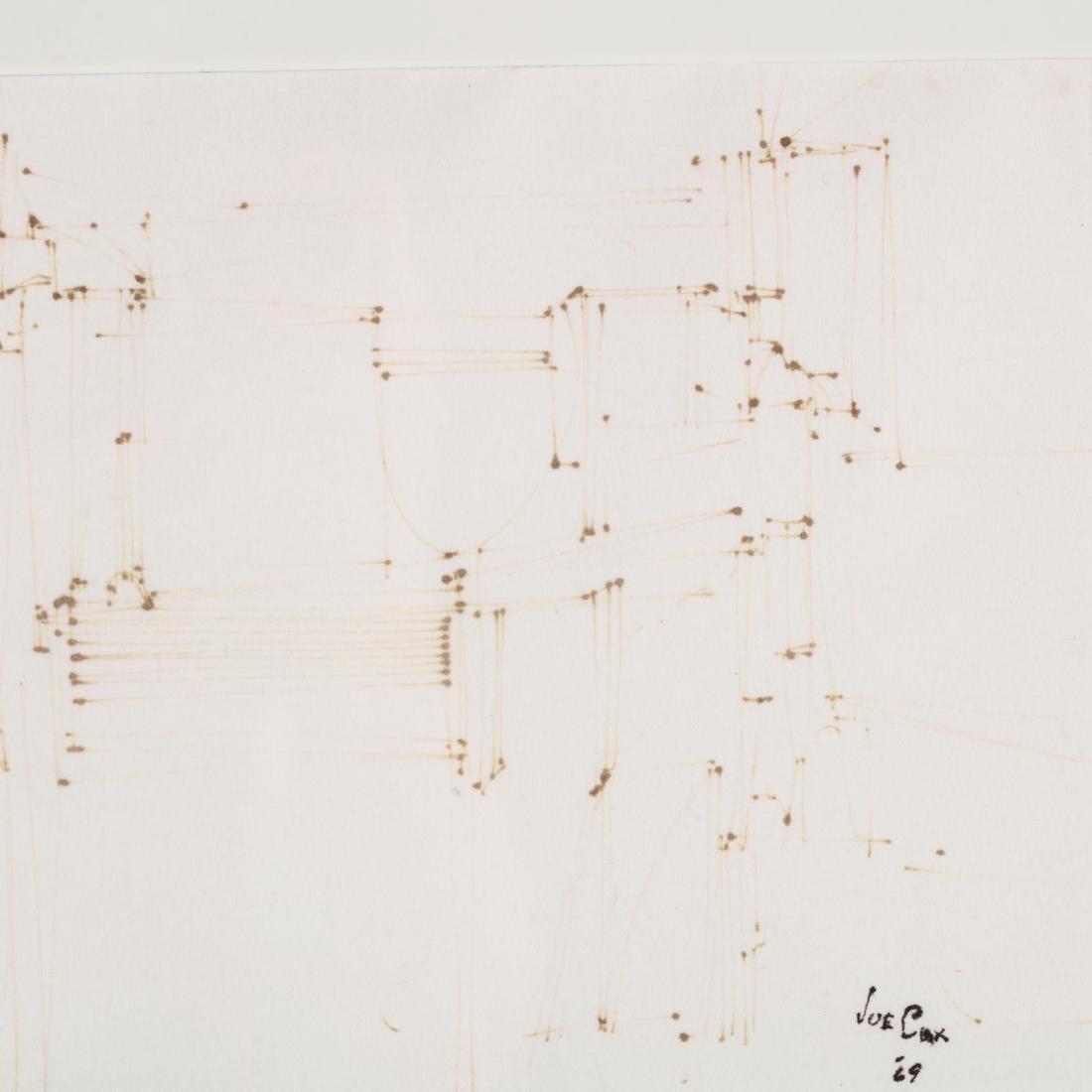 Joe Cox (NC, 1915-1997), Small Ink Drawing - 2